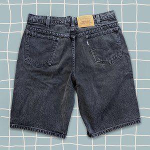 vintage 90s white tab 550 Levis denim shorts 32